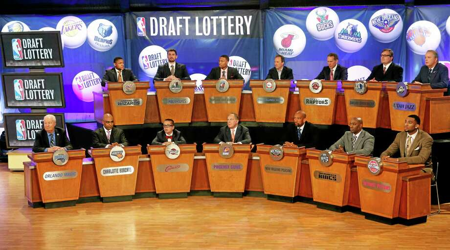 The NBA draft lottery is Tuesday, a night some teams appeared to be aiming toward for months during a season featuring plenty of talking about tanking. Photo: The Associated Press File Photo  / FR103966 AP