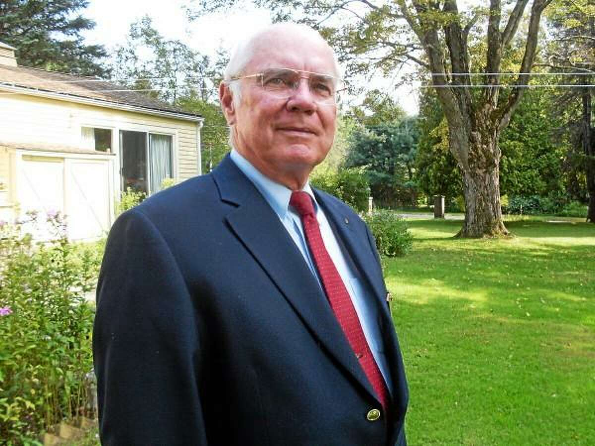 Contributed Photo - Phillip Birkett was Morris first selectman for 14 years total.
