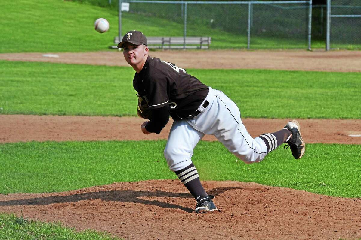 Thomastonís Blaise Russo went the distance to pick up the win, striking out seven batters.