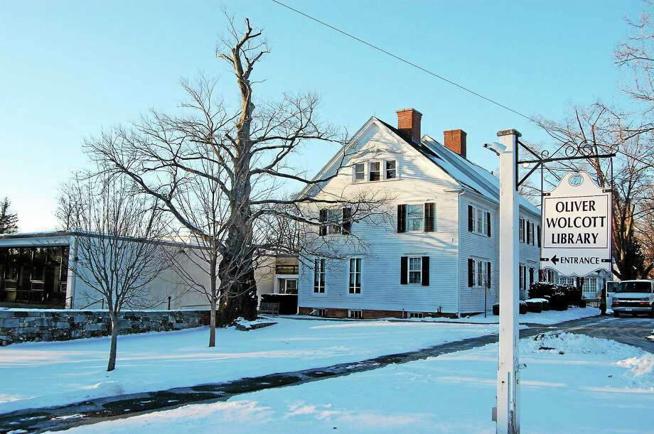 Ryan Flynn - The Oliver Wolcott Library in Litchfield. Photo: Journal Register Co.