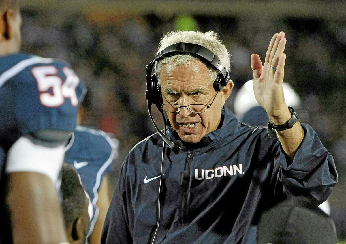 Former UConn head coach Paul Pasqualoni has been hired by the Chicago Bears to be their defensive line coach.