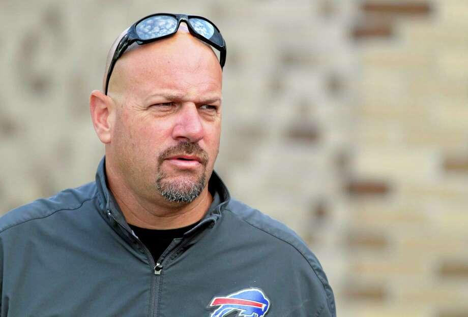 Former Buffalo Bills defensive coordinator Mike Pettine has been named head coach of the Cleveland Browns. Photo: Bill Wippert — The Associated Press  / FR170745 AP