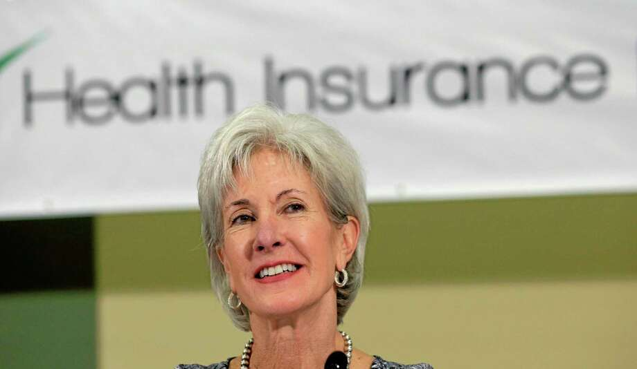 Health and Human Services Secretary Kathleen Sebelius sits on a panel to answer questions about the Affordable Care Act enrollment, Friday, Oct. 25, 2013, in San Antonio. (AP Photo/Eric Gay) Photo: AP / AP