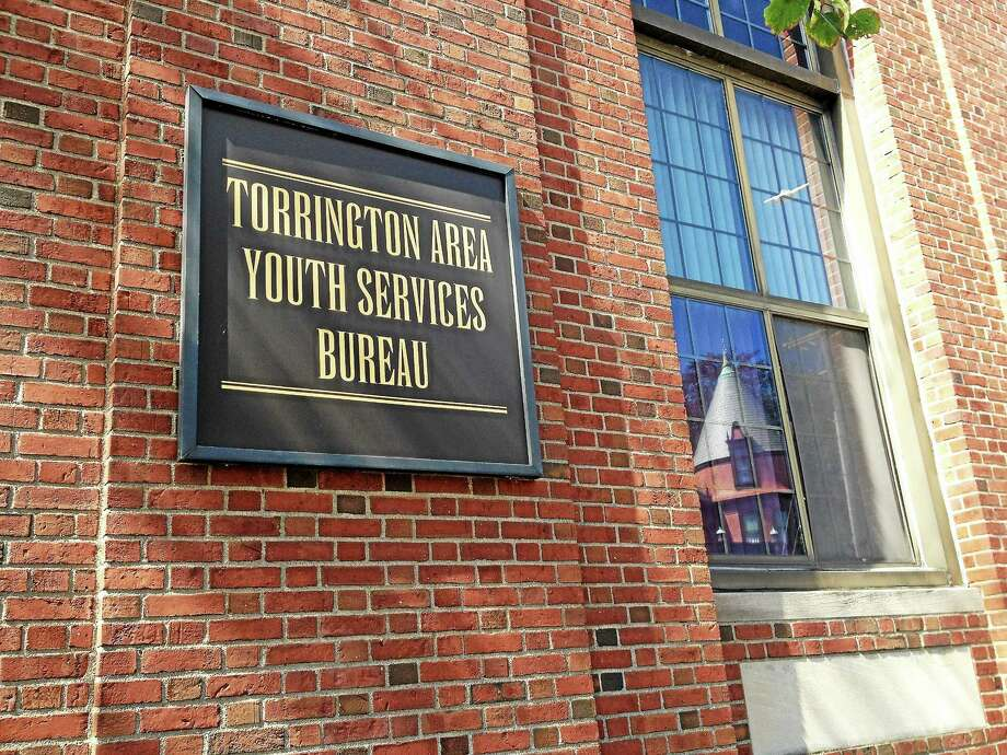 Outside the building housing the Torrington Area Youth Service Monday. The organization announced they received a $10,000 donation last week. Photo: Esteban L. Hernandez — The Register Citizen