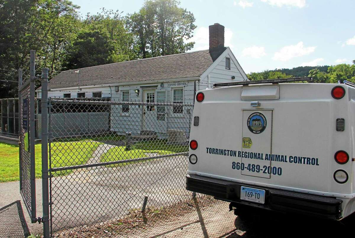 The Animal Control Facility on Aug. 14 in Torrington. There are plans to expand the facility, which currently serves two additional towns in the county.