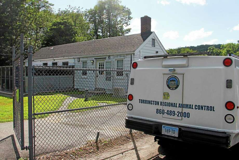The Animal Control Facility on Aug. 14 in Torrington. There are plans to expand the facility, which currently serves two additional towns in the county. Photo: Esteban L. Hernandez — The Register Citizen