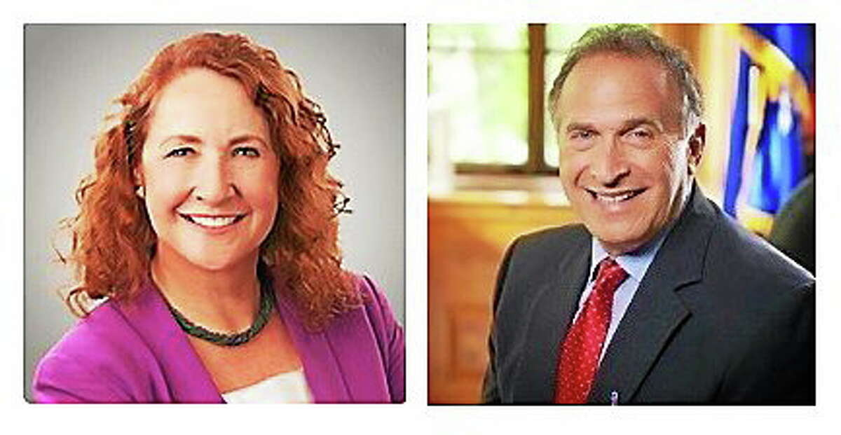 Incumbent U.S. Rep. Elizabeth Esty and her Republican challenger in the Fifth District congressional race, businessman Mark Greenberg.