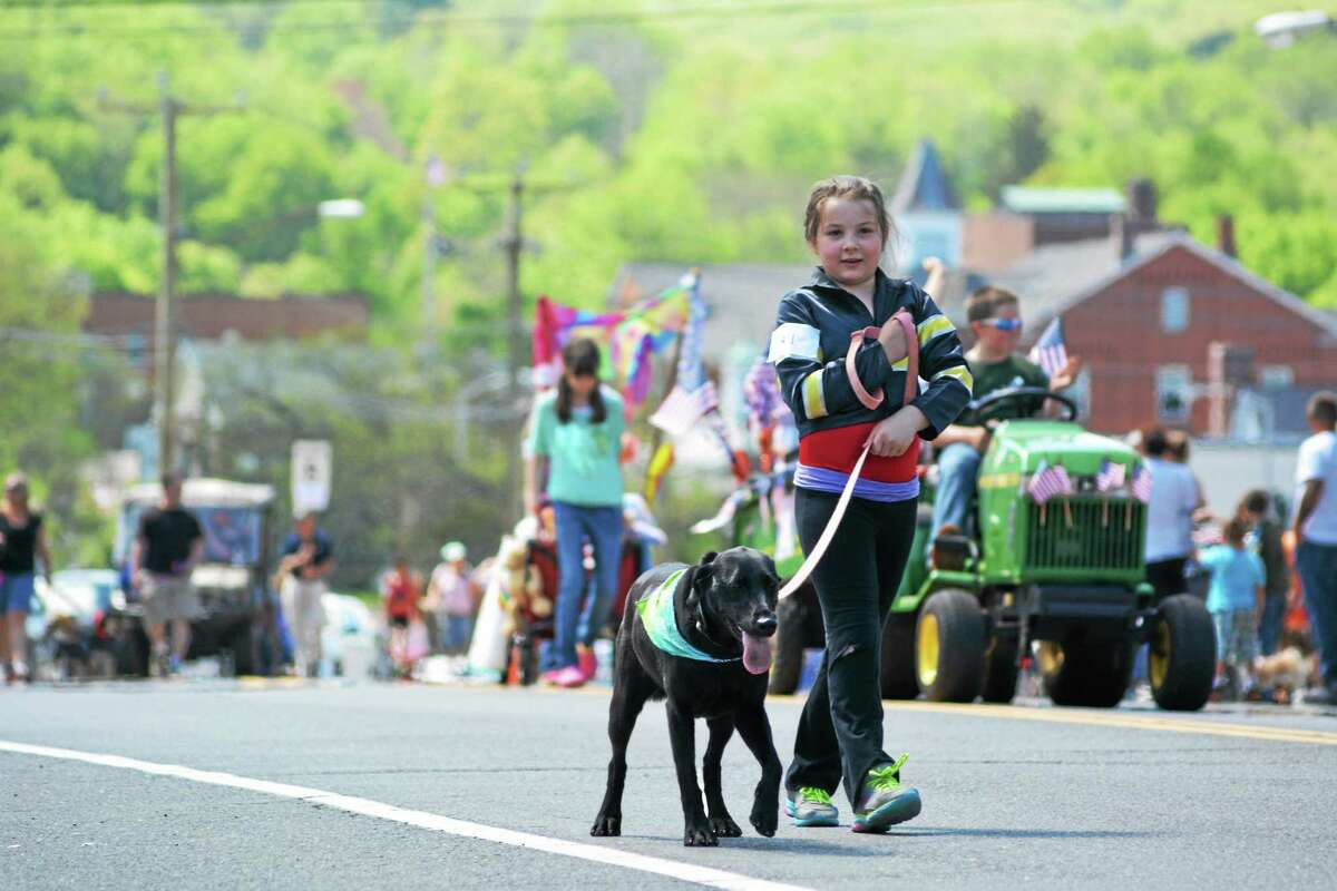With participants and spectators combined, Saturday's parade numbered in the thousands.