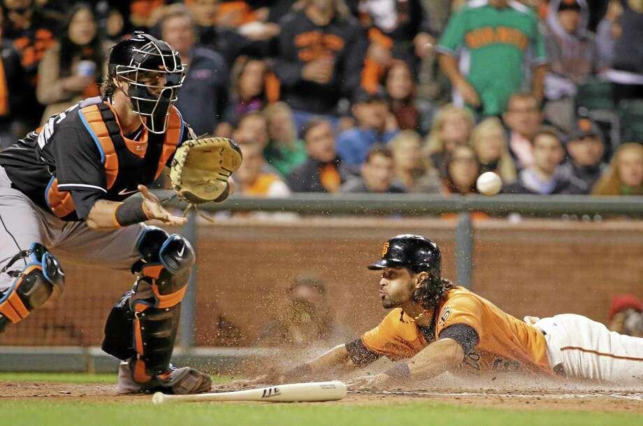 Mets fans never really got to see the Angel Pagan whom San Francisco Giants fans get to see every night. The center fielder is hitting .322 so far this season and the Giants are the No. 1 team in the Register MLB Rankings. Photo: Eric Risberg — The Associated Press  / AP