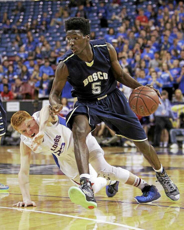 Daniel Hamilton, from St. John Bosco in Bellflower, California, is eager to hit the court with UConn this season. Photo: The Associated Press File Photo  / AP