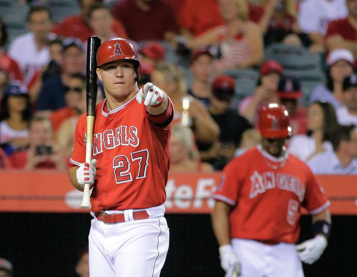 Thanks to a recent 17-5 stretch, Mike Trout and the Angels maintained their spot as the top team in the Register rankings.