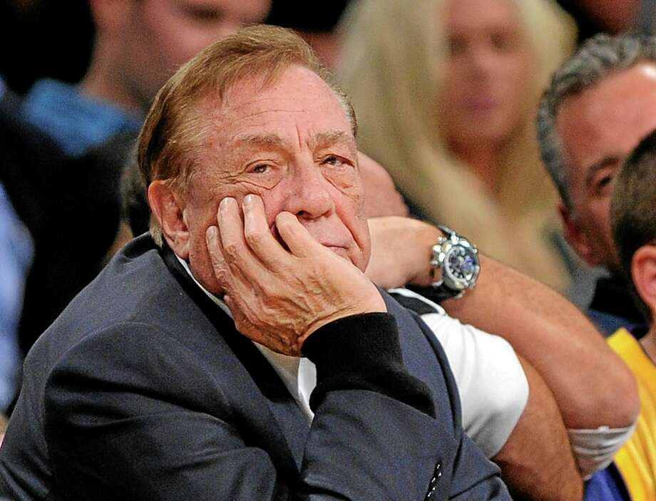 In this Feb. 25, 2011, file photo, Clippers owner Donald Sterling looks on during their game against the Lakers in Los Angeles. Photo: Mark J. Terrill — The Associated Press File Photo  / AP