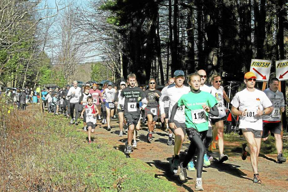 Last year's Sunny Brook Cross Country Race in Torrington. Photo: Contributed Photo — Northwest Connecticut YMCA