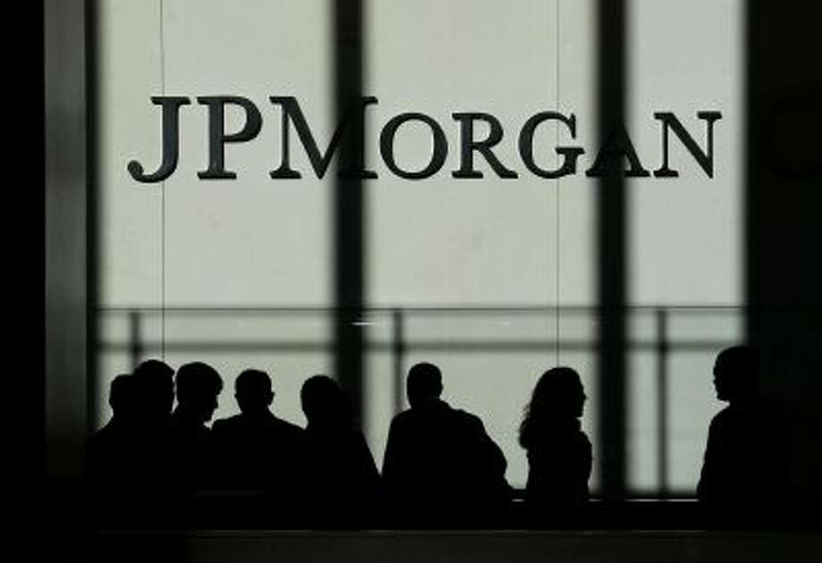 The JPMorgan Chase & Co. logo is displayed at their headquarters in New York. Photo: AP / AP