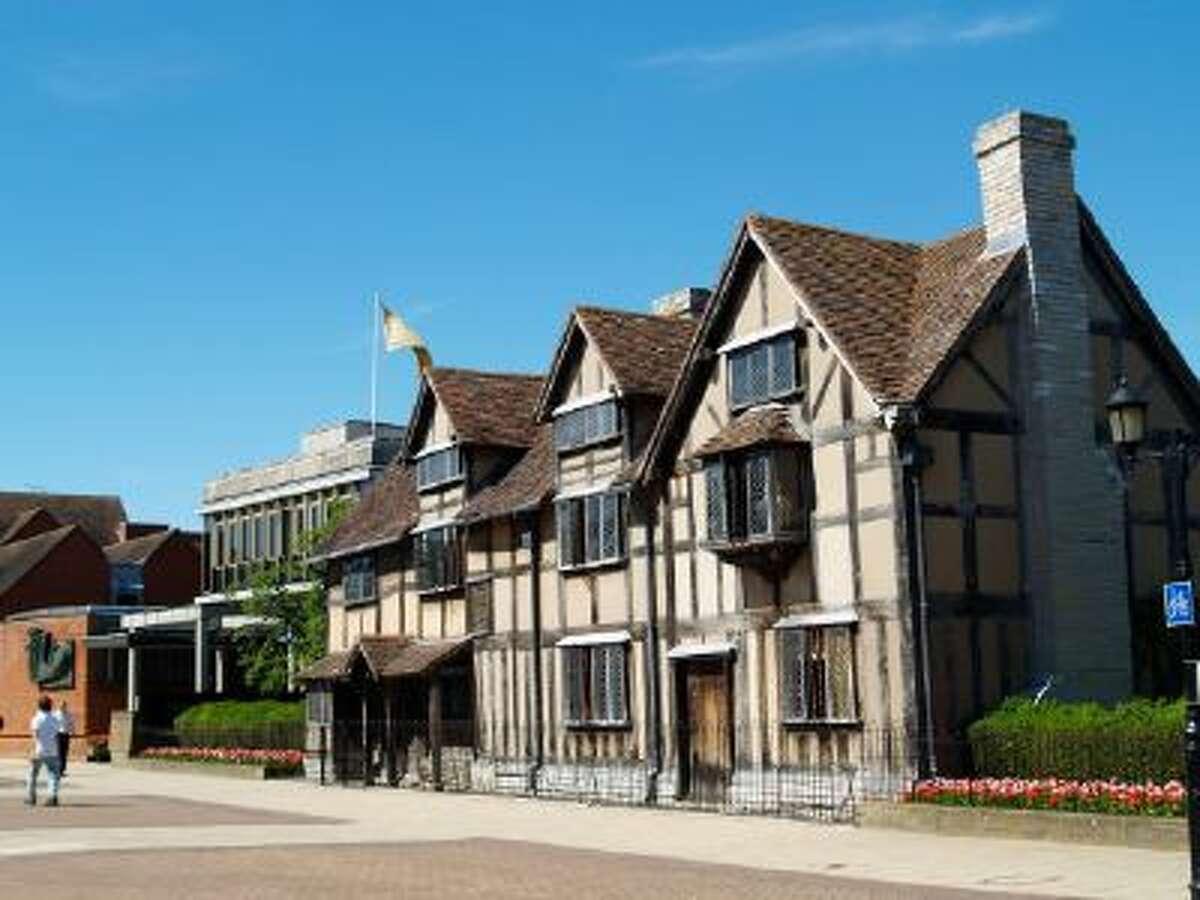 Shakespeare's birthplace Stratford-upon-Avon.