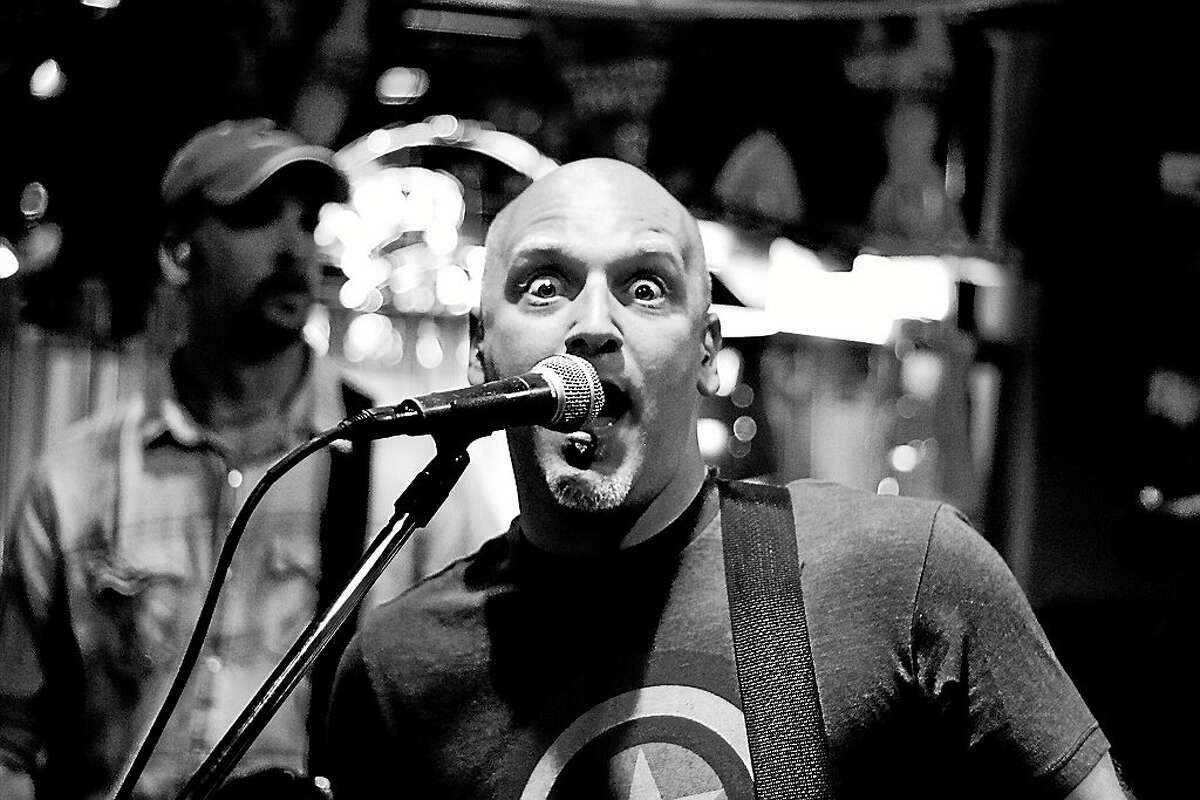 Submitted photo - So What Lead vocalist, Dave Legeret, of the band So What?