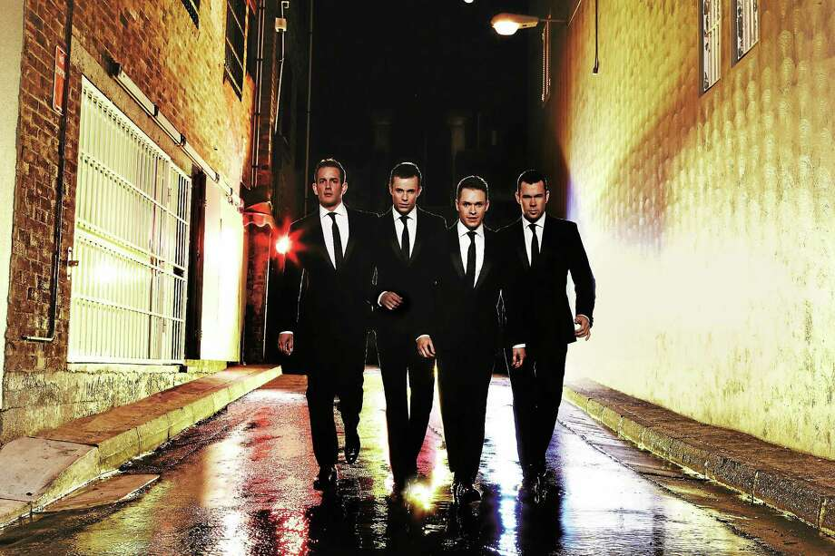 Submitted photos courtesy of Human Nature Human Nature, an Australian pop vocal group, is bringing its Motown show to Waterbury for one night of music in August. Photo: Journal Register Co.