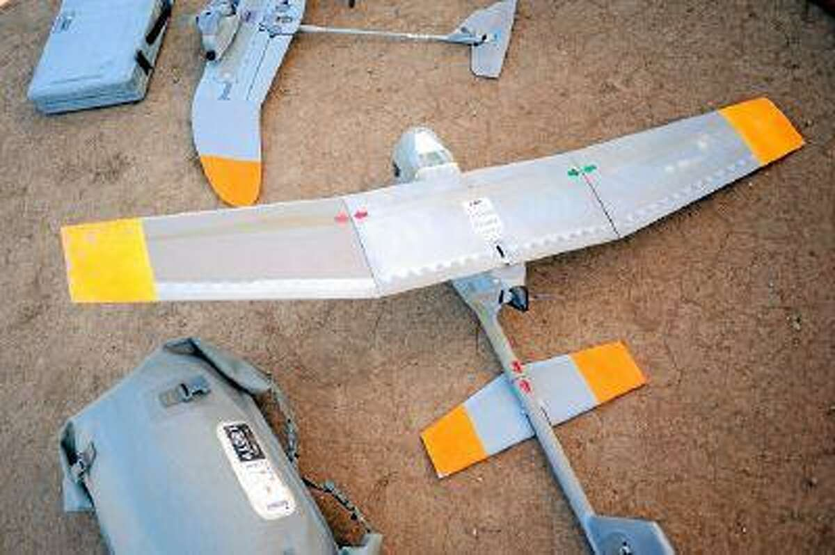 AeroVironment makes unmanned aircraft in Simi Valley, CA. (Andy Holzman/Staff Photographer)
