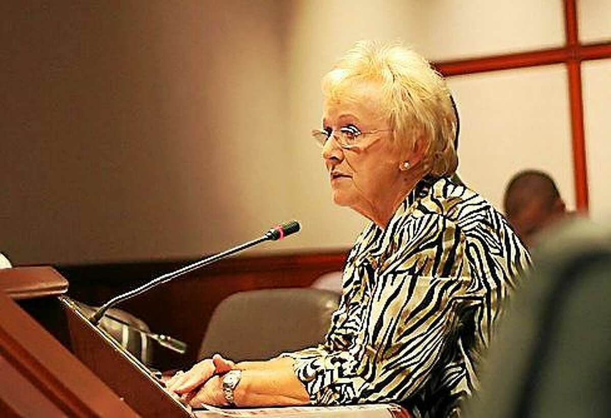 First Selectwoman Pat Llodra