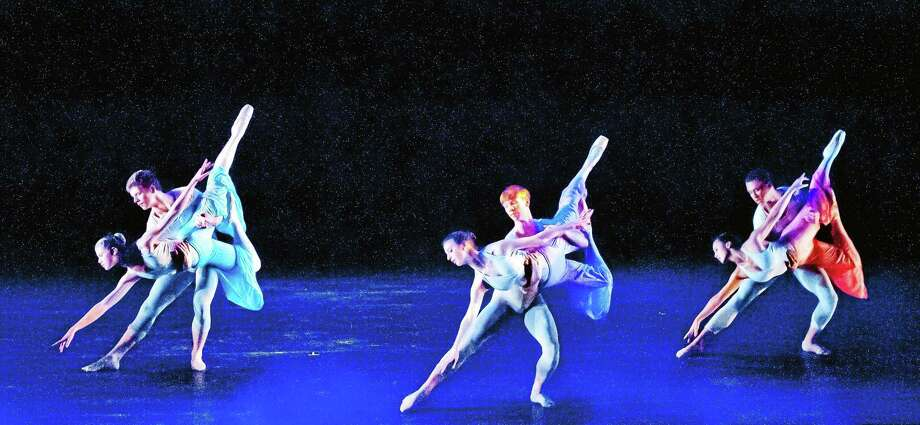 Submitted photo courtesy of Nutmeg Conservatory Dancers in training perform a springtime show for the Nutmeg Conservatory in Torrington. Photo: Journal Register Co. / © DON PERDUE