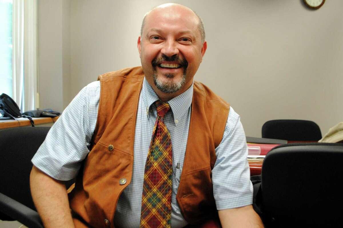 Giulio Romano says he intends to sue the Torrington Board of Education. Jessica Glenza - Register Citizen