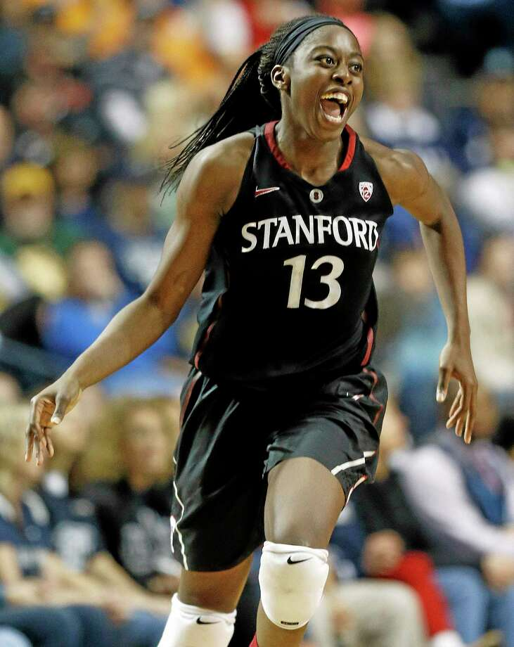 Former Stanford forward Chiney Ogwumike will make her WNBA debut with the Sun Friday night as Connecticut takes on Tina Charles and the New York Liberty. Photo: John Bazemore — The Associated Press File Photo  / AP