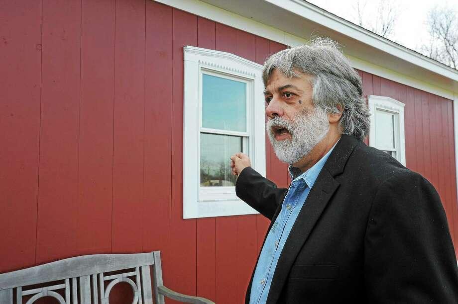 Frederick Acker, at his Bethlehem facility in November 2012. Photo: Register Citizen File Photo