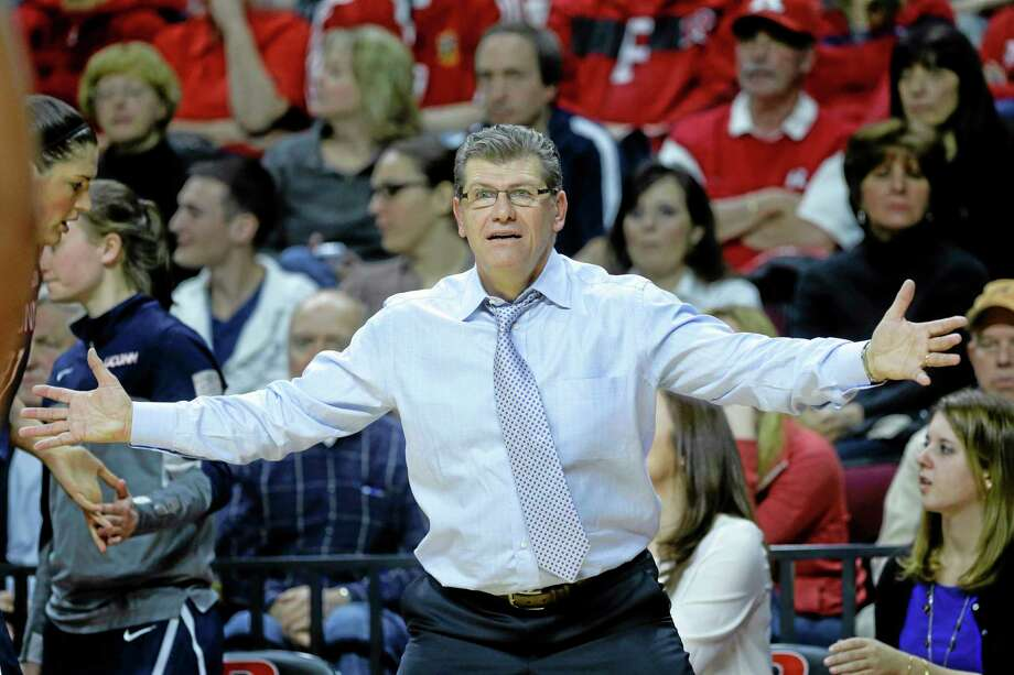 UConn head coach Geno Auriemma has dealt with injuries and a lack of depth all season, but it has yet to result in anything other than wins for the unbeaten and top-ranked Huskies. Photo: Mel Evans — The Associated Press  / AP