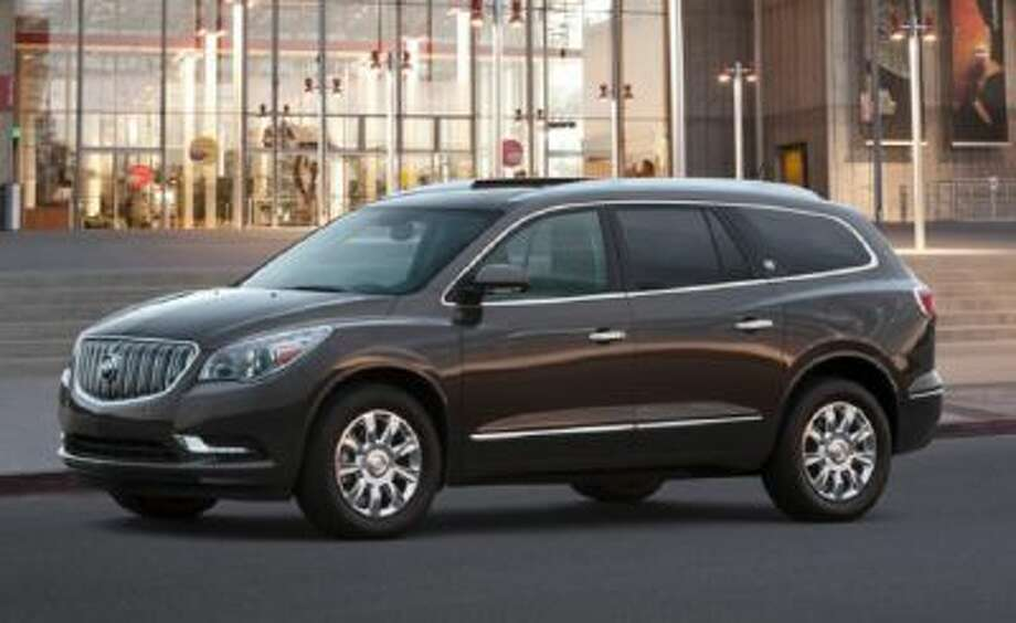 The 2014 Buick Enclave is seen in an undated photo provided by General Motors.
