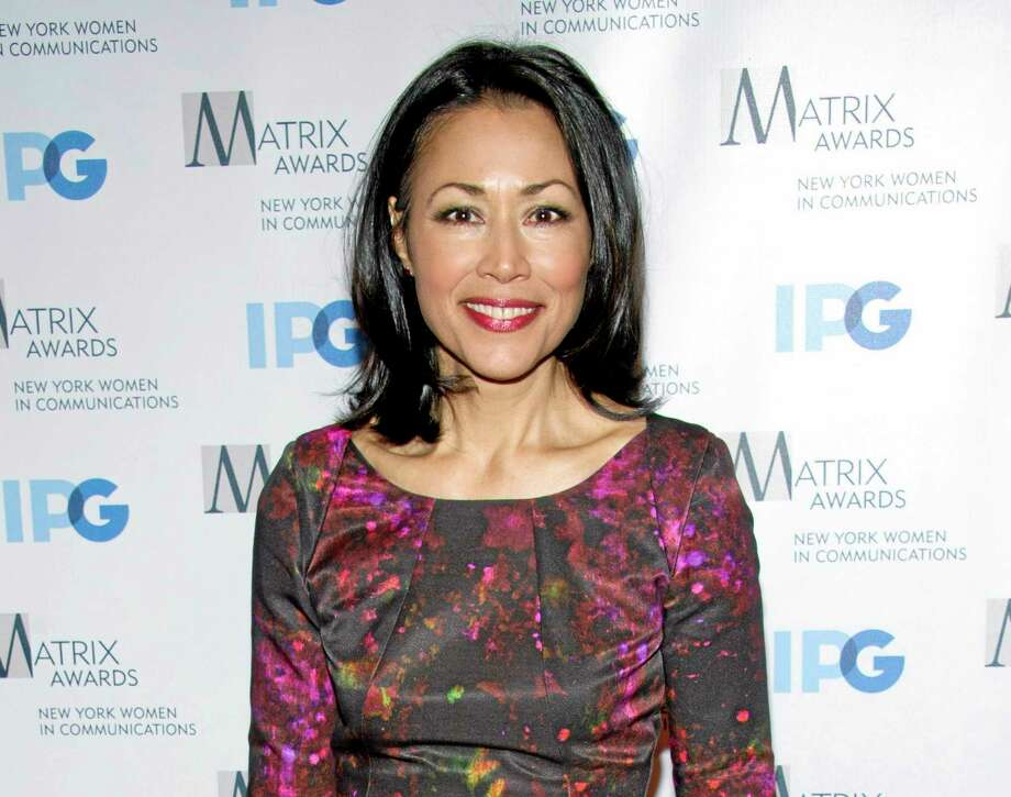FILE - This April 23, 2012 file photo shows Ann Curry at the Matrix Awards in New York. Curry was rescued by a troop of New Jersey Boy Scouts when she broke her leg while hiking with her family on Bear Mountain in New Yorkís Harriman State Park on April 5, 2014. Members of Troop 368 from Berkeley Heights, New Jersey, stopped to help the injured NBC News correspondent, creating a splint for her ankle and fashioning a stretcher from logs and a tarp. They then carried her down the mountain. (AP Photo/Charles Sykes, File) Photo: AP / SYKEC