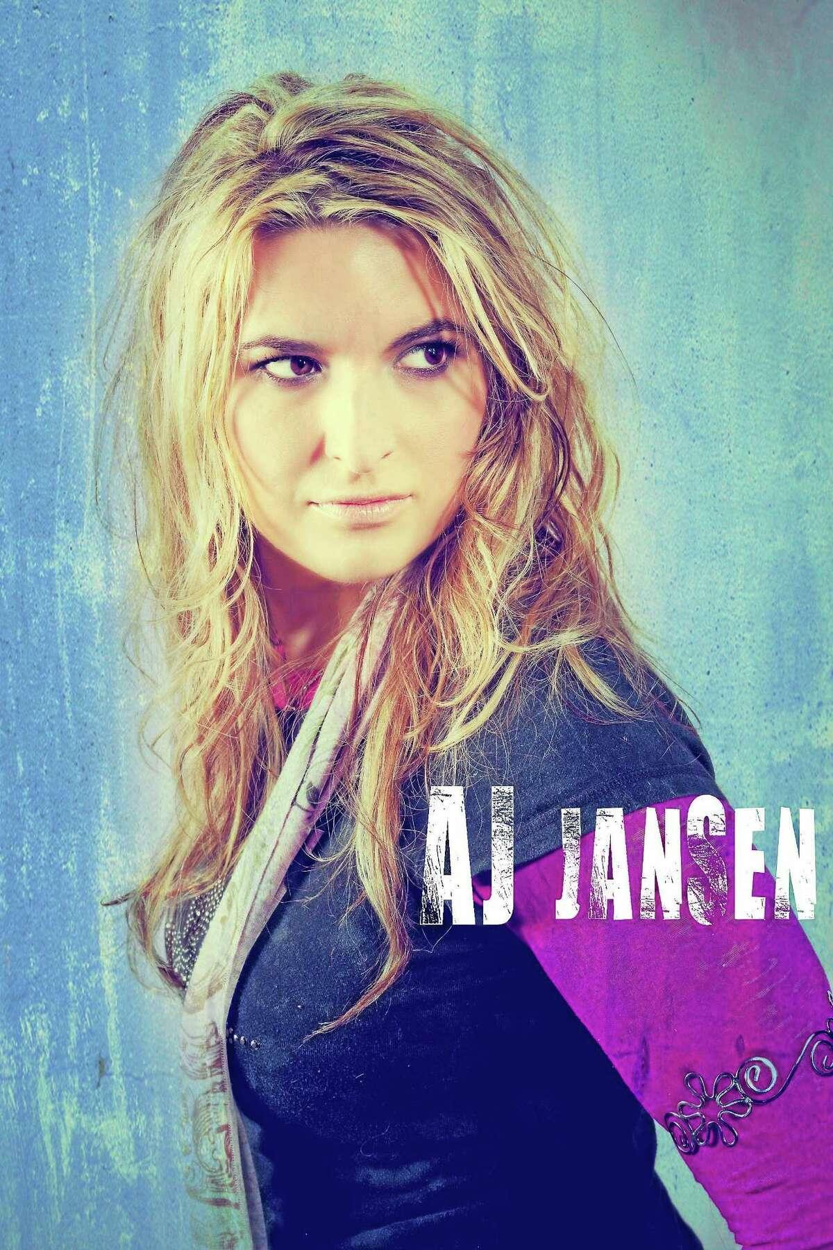 Submitted photo - AJ Jansen Singer AJ Jansen is part of Coe Park Unplugged on Sept. 20 in Torrington.
