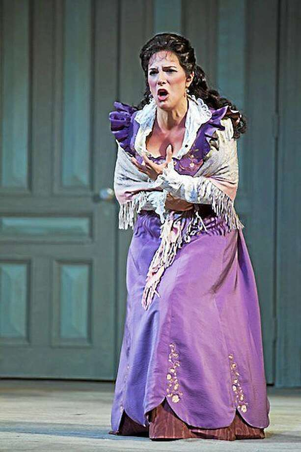 Submitted photo - Audrey Babcock Mezzo-soprano Audrey Babcock is joining other actors, singers and musicians for a benefit performance at The Gary-The Olivia Theater in Bethlehem this weekend. Photo: Rod Millington / Rod Millington