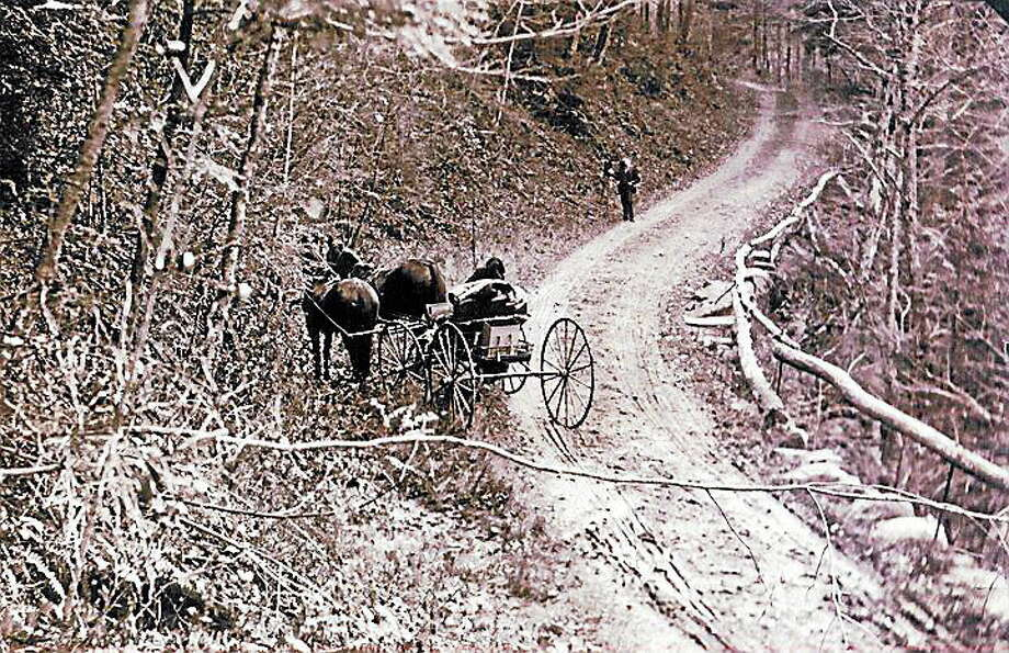 Submitted Photo. This is Torrington's Lovers Lane circa 1895. Photo comes from Genealogist Richard Pope. Photo: Journal Register Co.