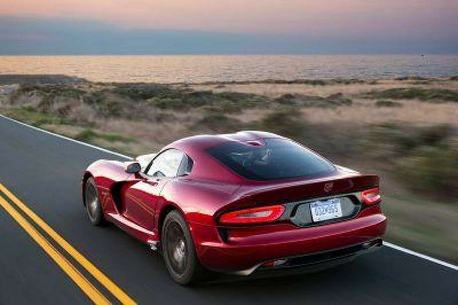 AUTOS VIPER: The Viper, shown in this Nov. 2012 photo, is now part of Chrysler's SRT brand. Illustrates AUTOS-VIPER (category l) by Jason H. Harper (c) 2013, Bloomberg News. Moved: Friday, June 21, 2013 (MUST CREDIT: Bloomberg News photo by Richard Prince/Chrysler).