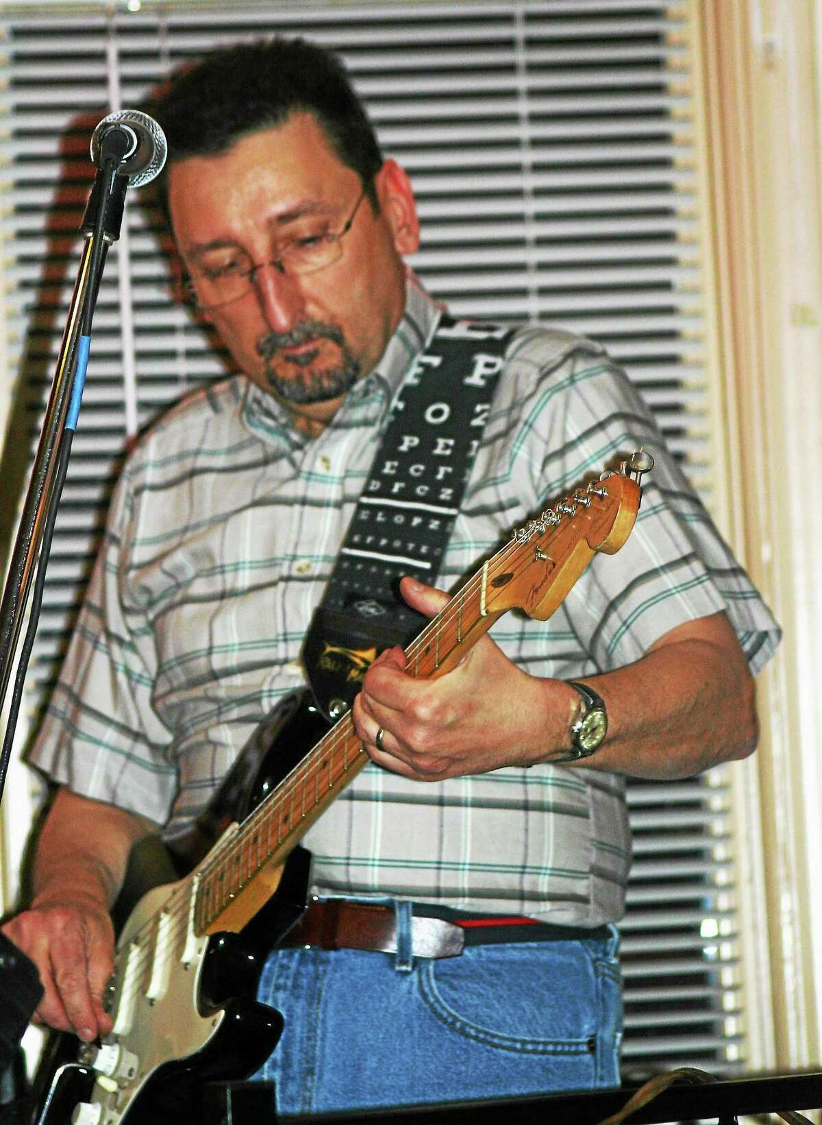Photo by Domenic Forcella The Steve Polezonis Trio plays from 2-4 p.m. at Oktoberfest at Spaten Beerhall Saturday in New Britain.
