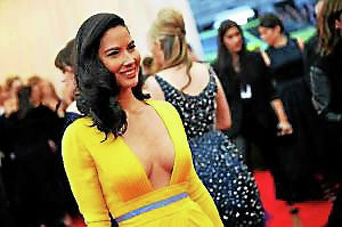 """Olivia Munn attends the """"Charles James: Beyond Fashion"""" Costume Institute Gala at the Metropolitan Museum of Art on May 5, 2014, in New York City."""