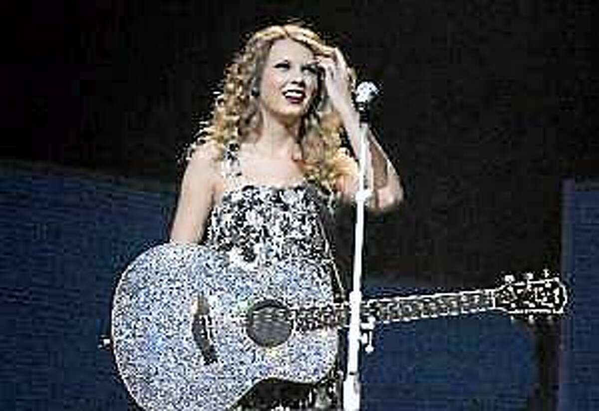 Taylor Swift performs at the HP Pavilion in San Jose, Calif. on Sunday, April 11, 2010.