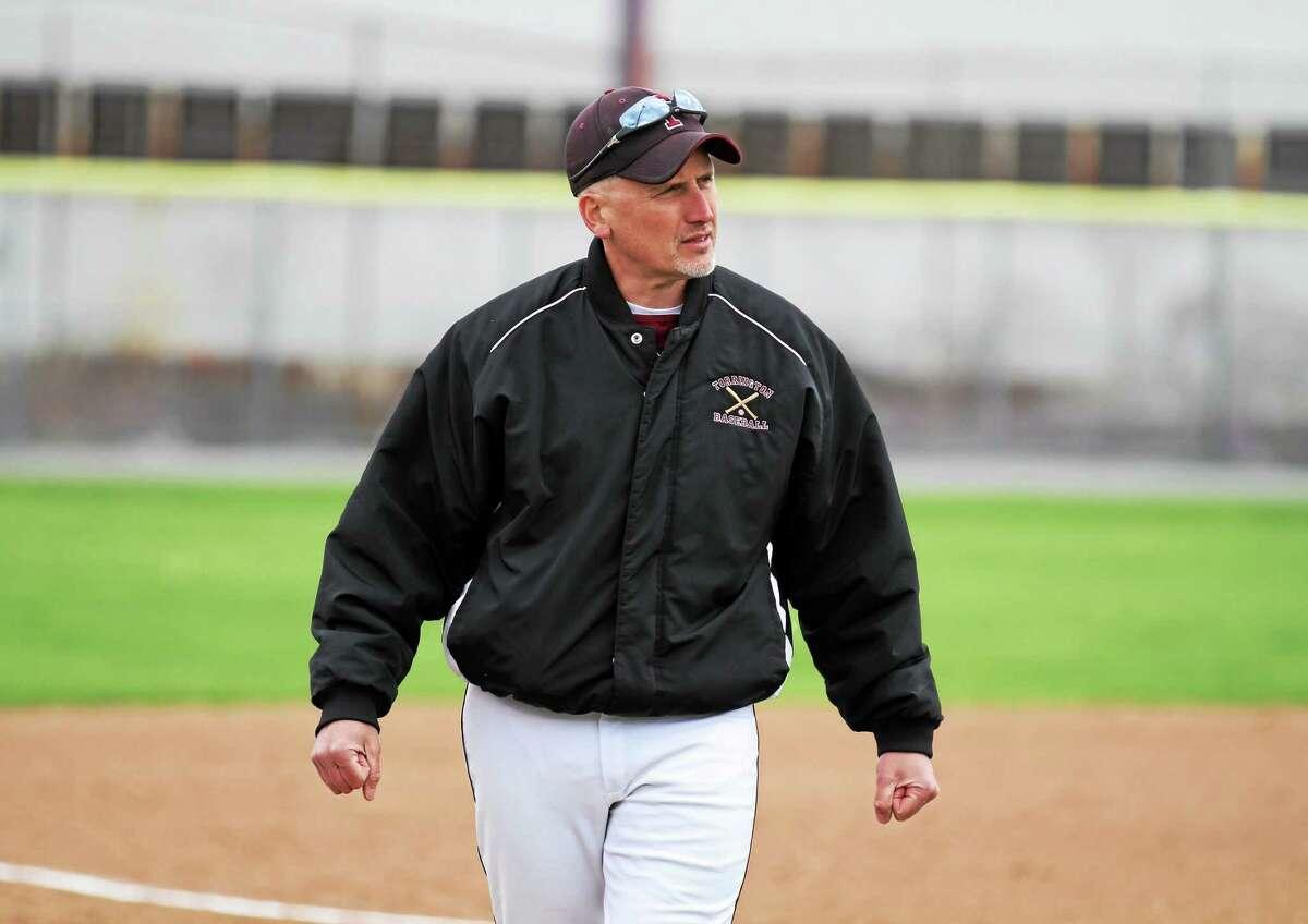 Torrington head coach Pat Richardson is in his third season as the head coach of the Red Raiders.