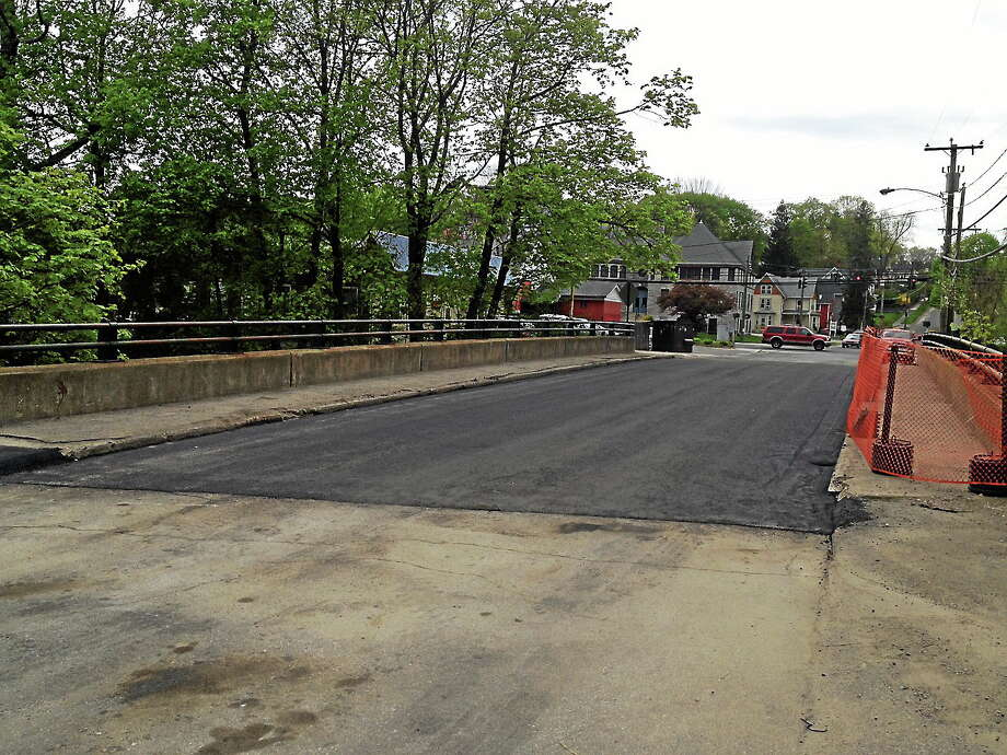 Winsted's Holabird Avenue Bridge is again open to the public. Photo: Contributed Photo