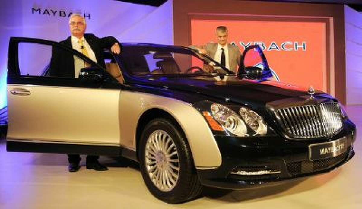 The Maybach 62, premium luxury, seen in 2011, the year the brand was axed. The final cars were sold off last year, but now Maybach is set for a come back.