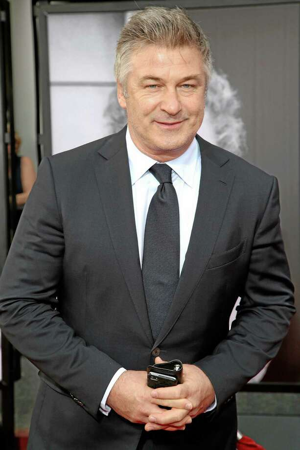 This April 10, 2014, file photo shows actor Alec Baldwin at the 2014 TCM Classic Film Festival's Opening Night Gala in Los Angeles. Police in New York City say actor Alec Baldwin has been arrested for riding a bike the wrong way on the street and acting belligerently toward the arresting officers. Photo: (The Associated Press File Photo) / Invision
