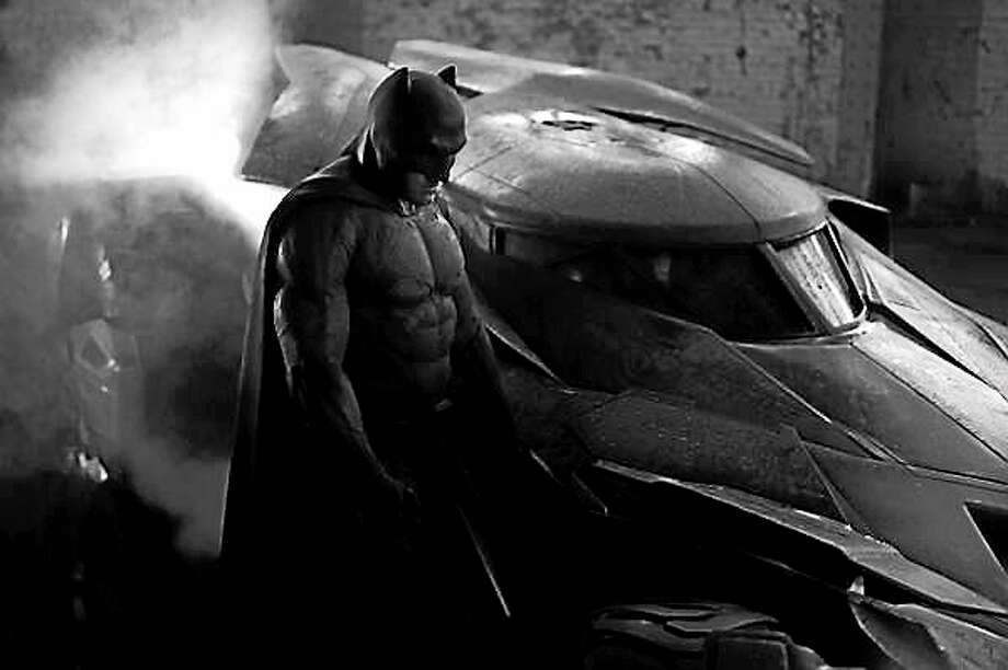 """Zack Snyder tweeted this image Tuesday of Ben Affleck as Batman in the upcoming """"Man of Steel"""" sequel. Photo: Journal Register Co."""