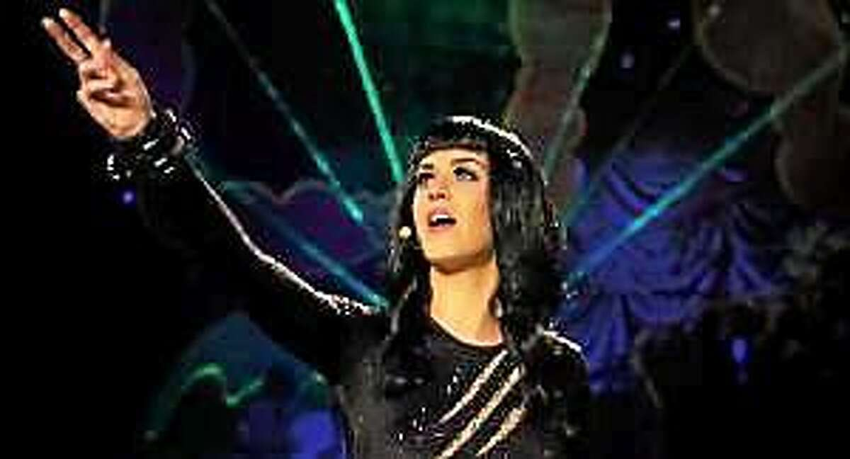 """Katy Perry in a scene from her 3D film, """"Katy Perry: Part of Me."""""""