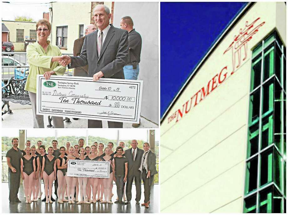 Photographs courtesy of the Nutmeg Ballet ConservatoryTorrington's Downtown Main Street improvements are lauded by members of the Nutmeg as the school continues its own work on the building in the center of the city. Photo: Journal Register Co.