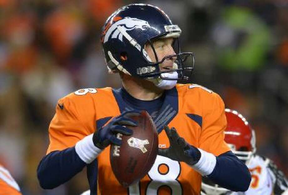 The Broncos have opened as slight Super Bowl favorites over the Seahawks.