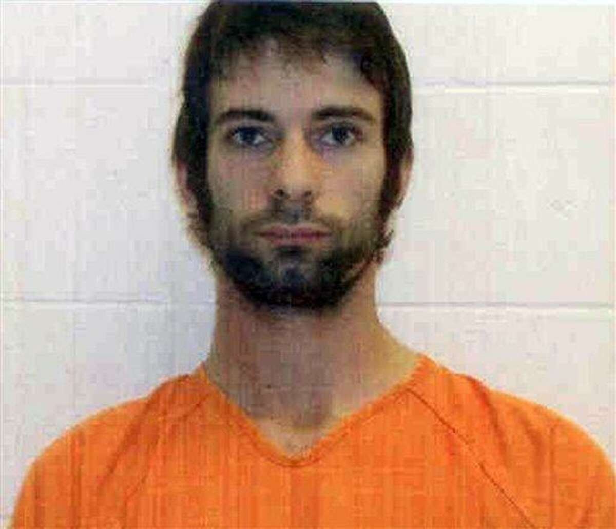 FILE - This undated file photo provided by the Erath County Sheriff's Office shows Eddie Ray Routh, who was charged with killing former Navy SEAL and