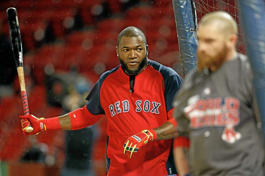 David Ortiz and the Boston Red Sox begin the World Series against the St. Louis Cardinals on Wednesday at Fenway Park. Photo: Elise Amendola — The Associated Press  / AP