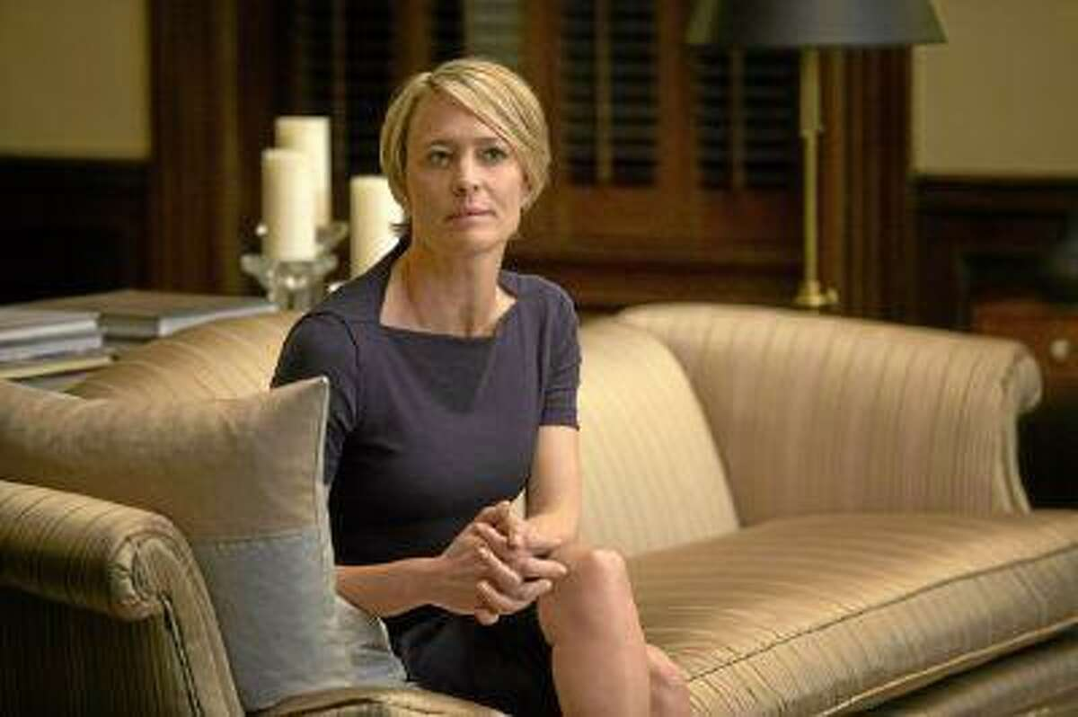 Robin Wright is starring in 'House of Cards,' as the captivating Claire Underwood. How does she like acting for TV? (Melinda Sue Gordon/Los Angeles News Group)