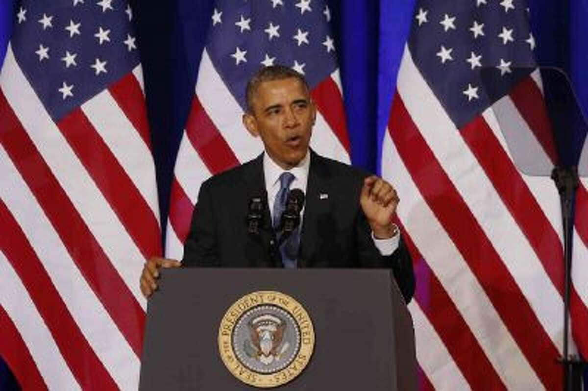 President Barack Obama about the NSA on Friday, Jan. 17, 2014.