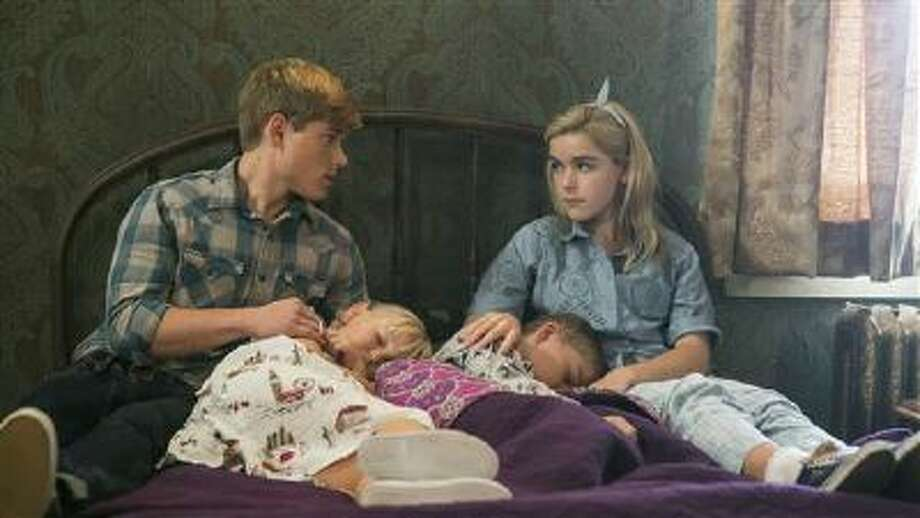 """He ain't sexy, he's my brother. Mason Dye plays Christopher and """"Mad Men"""" veteran Kiernan Shipka plays Cathy in the """"Flowers in the Attic"""" movie."""